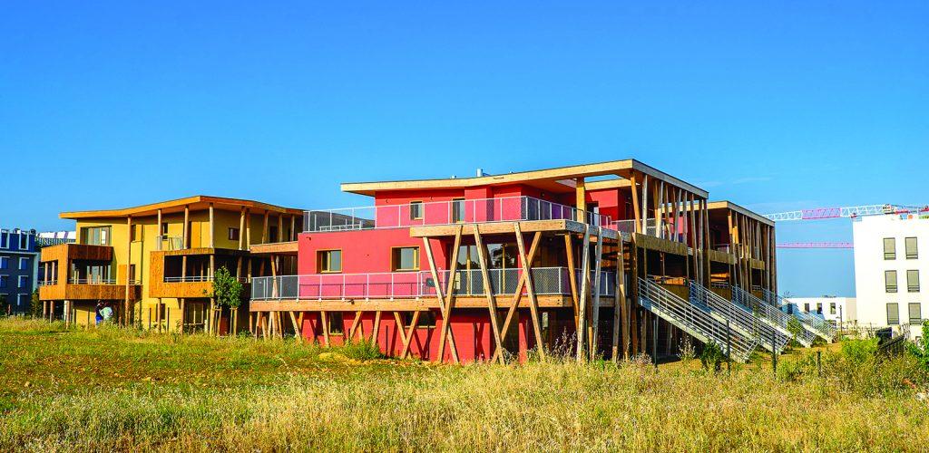 Résidence Habitat Participatif - MASCOBADO © Frédéric JOZON _ Archi Architecture Environnement
